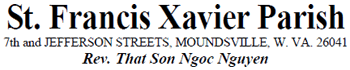 Saint Francis Xavier Parish Logo